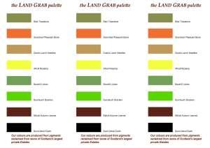 land grab palette