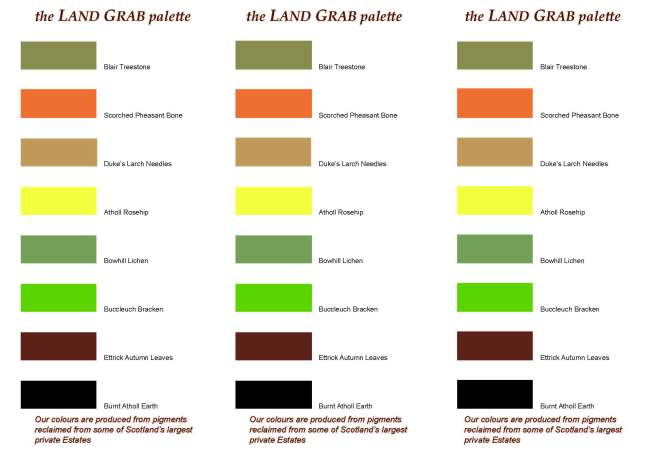 land grab palette